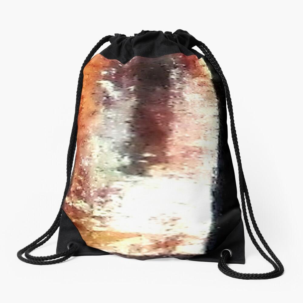 Digital Abstract N10. Drawstring Bag