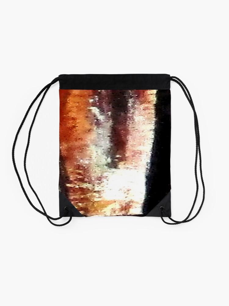 Alternate view of Digital Abstract N10. Drawstring Bag