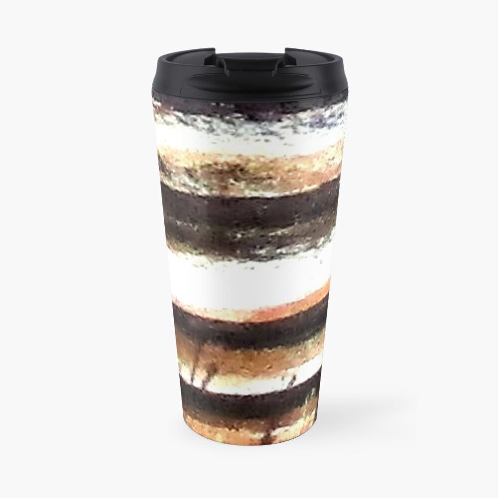 Digital Abstract N11. Travel Mug