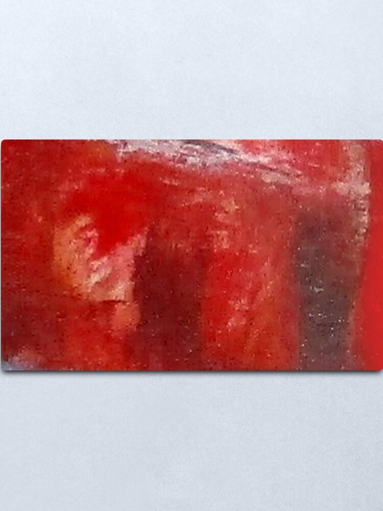 Alternate view of Digital Abstract N12. Metal Print