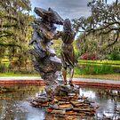 Statue in den Brookgreen Gardens HDR von TJ Baccari Photography
