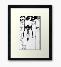 Evangelion – Unit-01 Framed Print