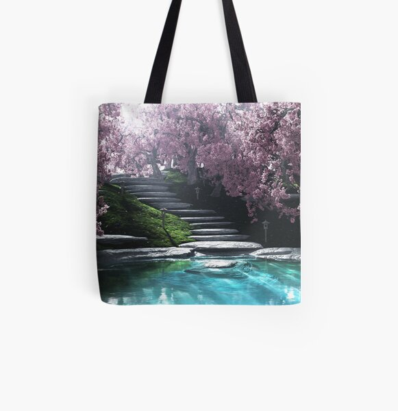 Chisen All Over Print Tote Bag