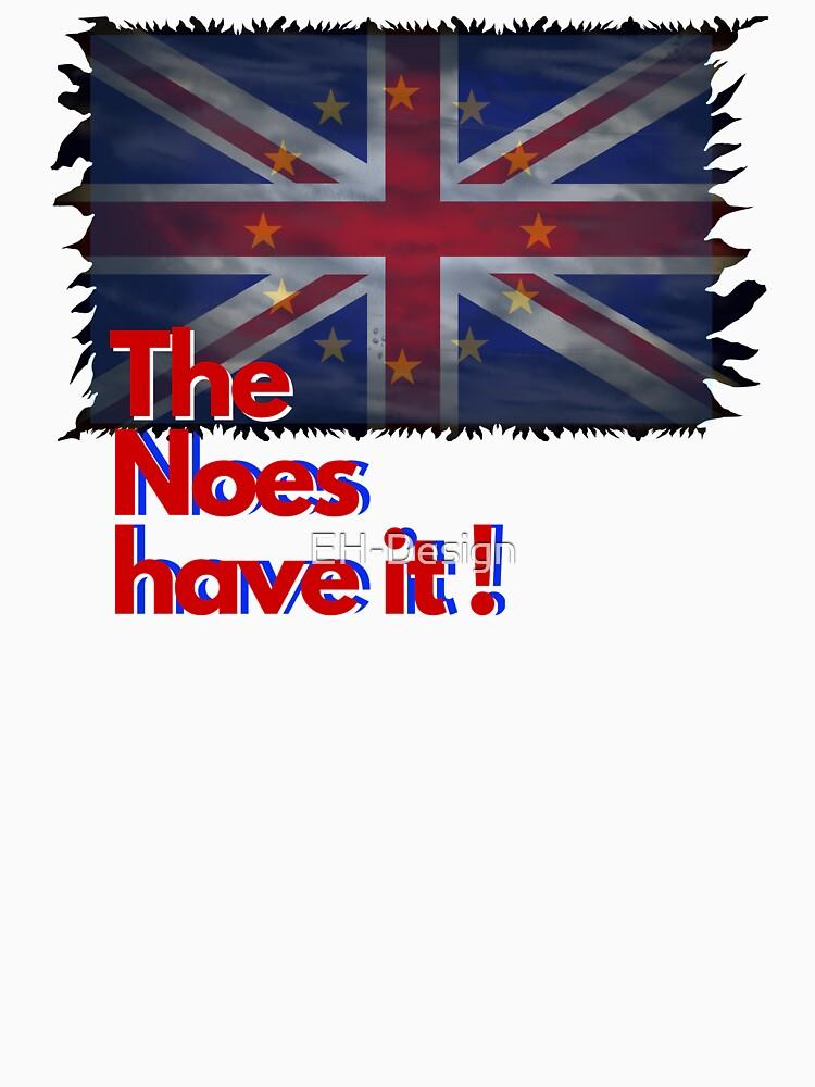 The Noes have it ! - Brexit von EH-Design