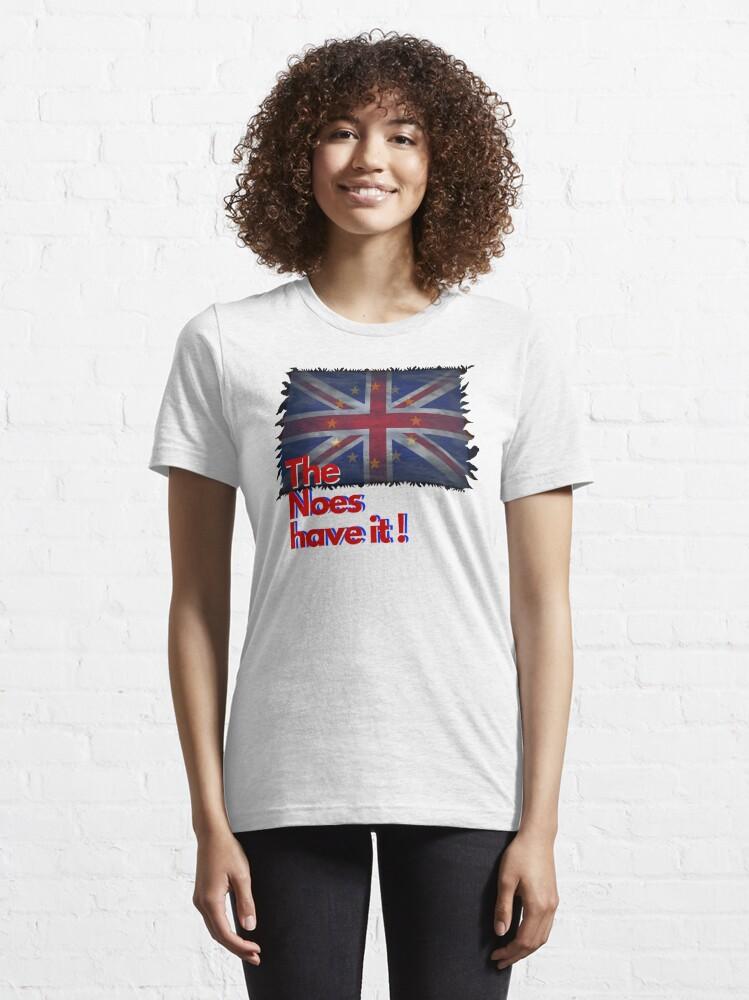 Alternative Ansicht von The Noes have it ! - Brexit Essential T-Shirt