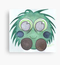 Green fluff Canvas Print