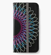 Kreise iPhone Flip-Case/Hülle/Skin