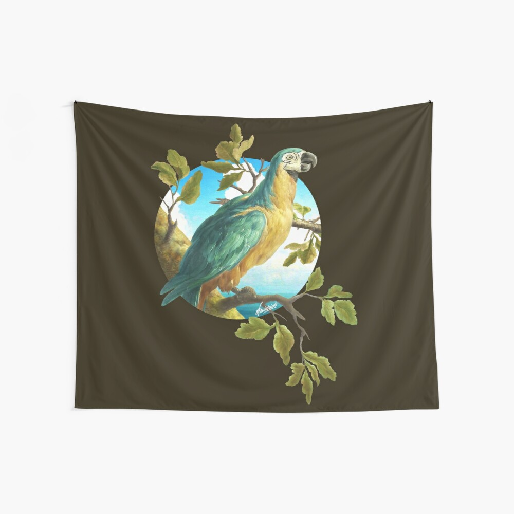 Parrot 1 Wall Tapestry