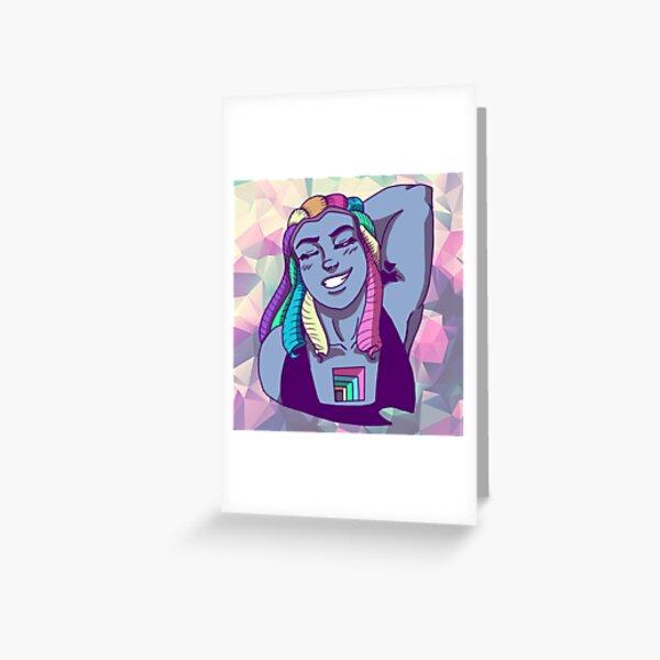 Bismuth Greeting Card
