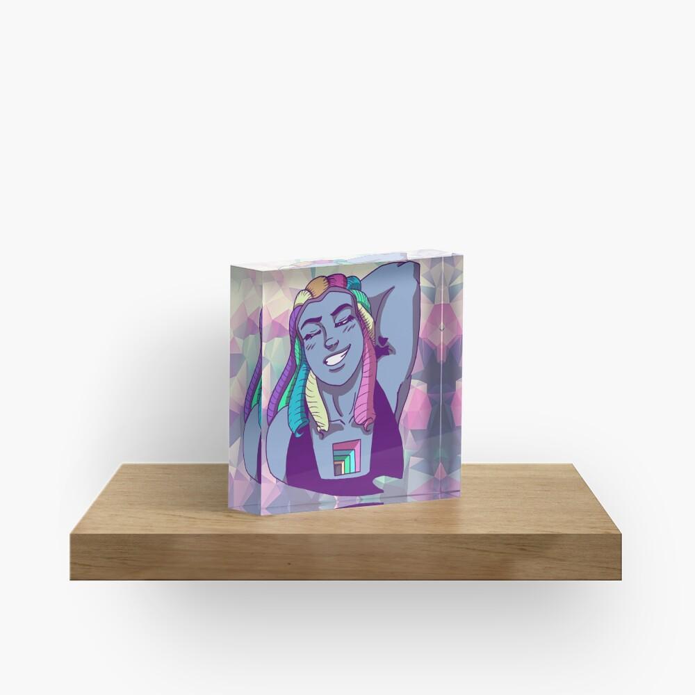 Bismuth Acrylic Block