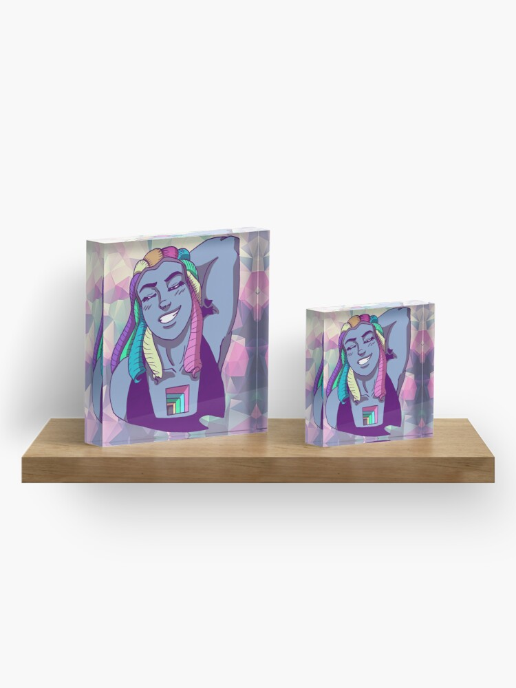 Alternate view of Bismuth Acrylic Block