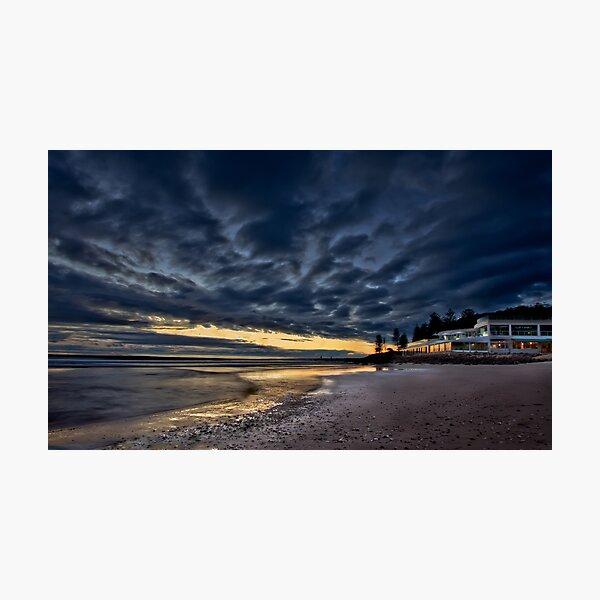Moody Sunrise Photographic Print