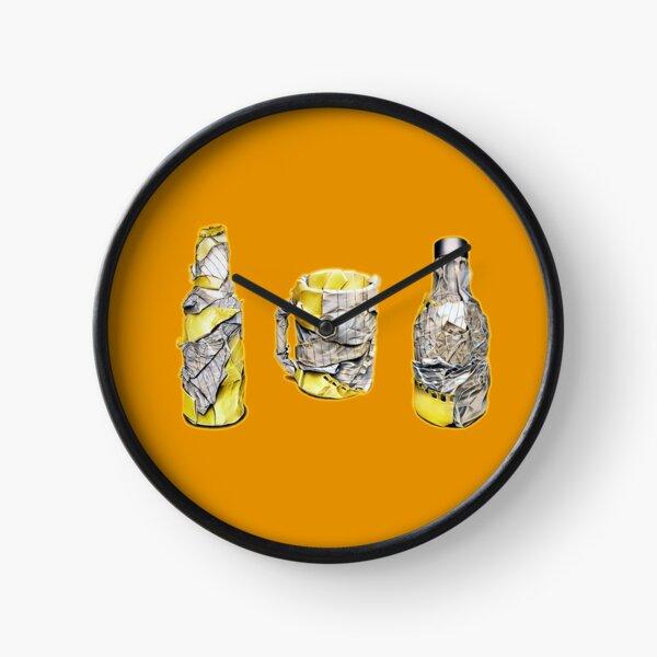 Pres (Colour pencil drawing) Clock