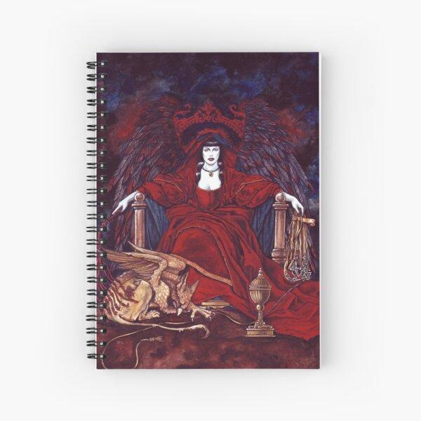 The Priestess-Magician by Stuart Littlejohn Spiral Notebook