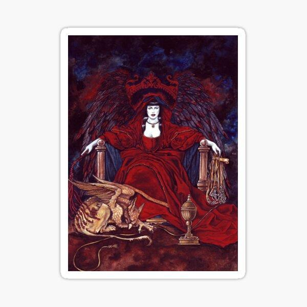 Die Priesterin-Magierin von Stuart Littlejohn Sticker