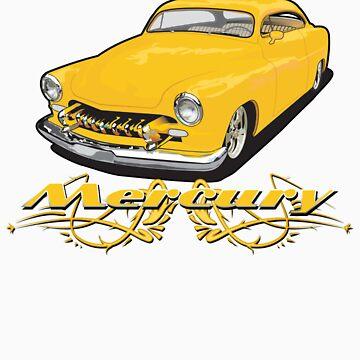 Mercury Lead Sled by limey57