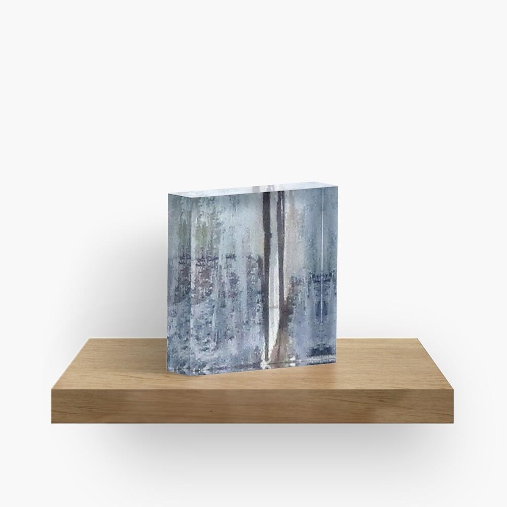 Digital Abstract N13. Acrylic Block