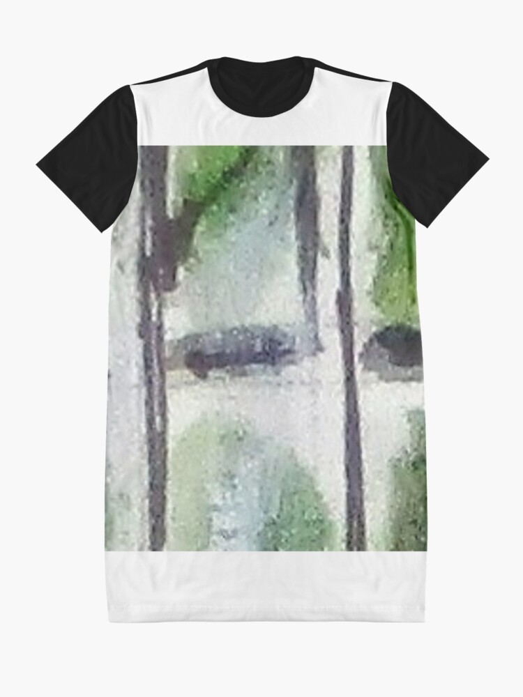 Alternate view of Digital Abstract N14. Graphic T-Shirt Dress