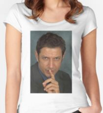 Jeff Goldblum Women's Fitted Scoop T-Shirt