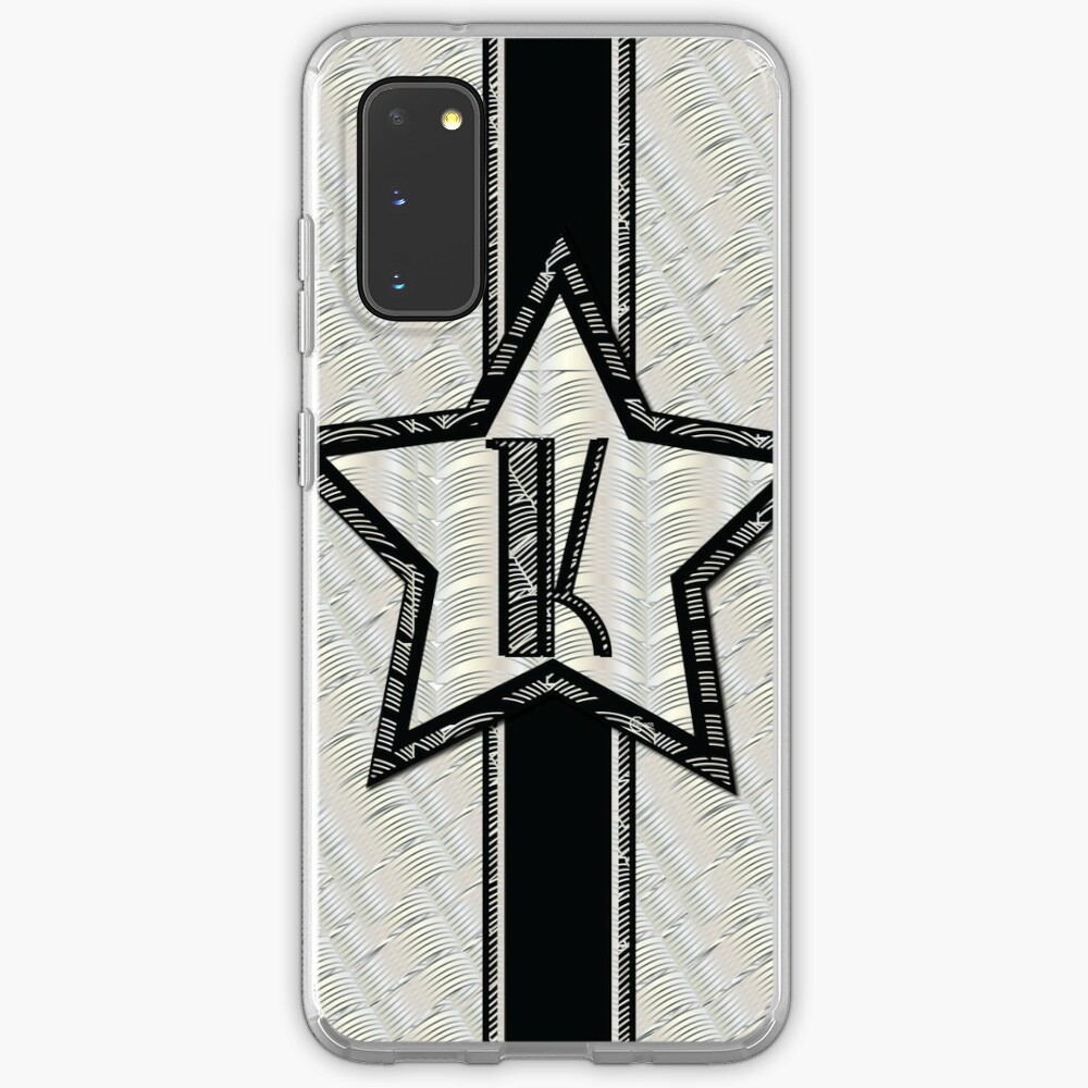 STAR of the SHOW art deco style letter K Case & Skin for Samsung Galaxy