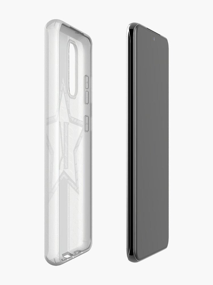 Alternate view of STAR of the SHOW art deco style letter K Case & Skin for Samsung Galaxy
