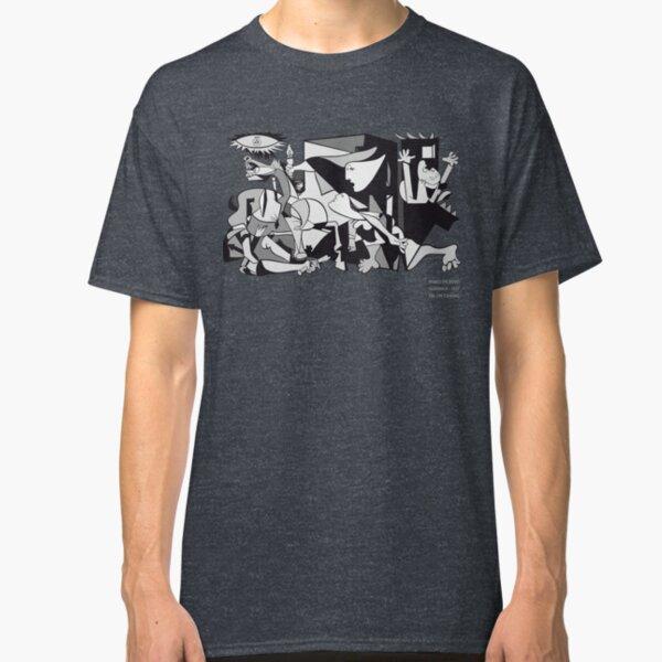 Pablo Picasso Guernica 1937 Artwork Reproduction Classic T-Shirt