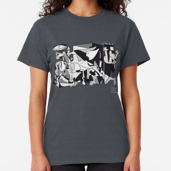 Pablo Picasso Guernica 1937 Artwork Reproduction Classic T-Shirt