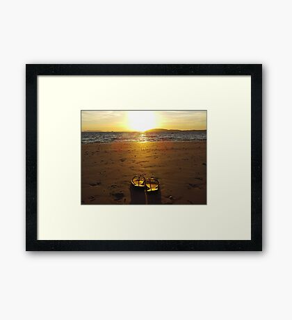 Railay Sunset Framed Print