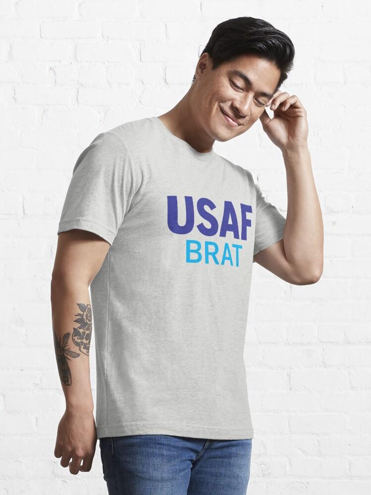 Alternate view of Air Force Brat Blues Essential T-Shirt