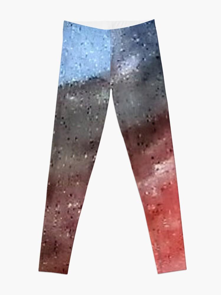 Alternate view of Digital Abstract N15. Leggings