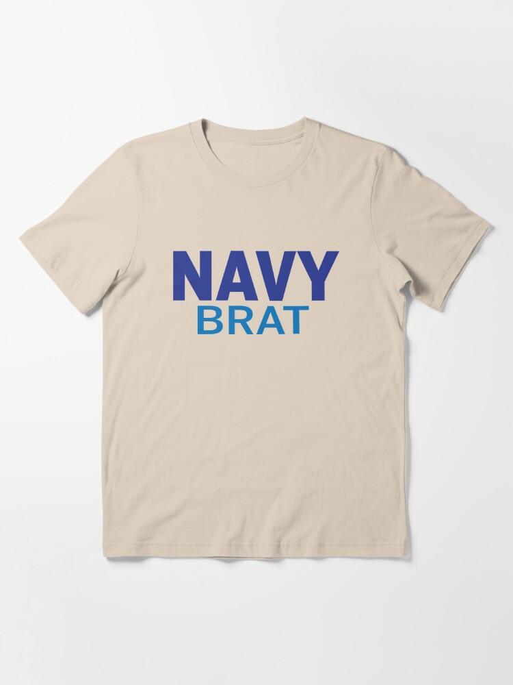 Alternate view of Navy Brat - Blues Essential T-Shirt