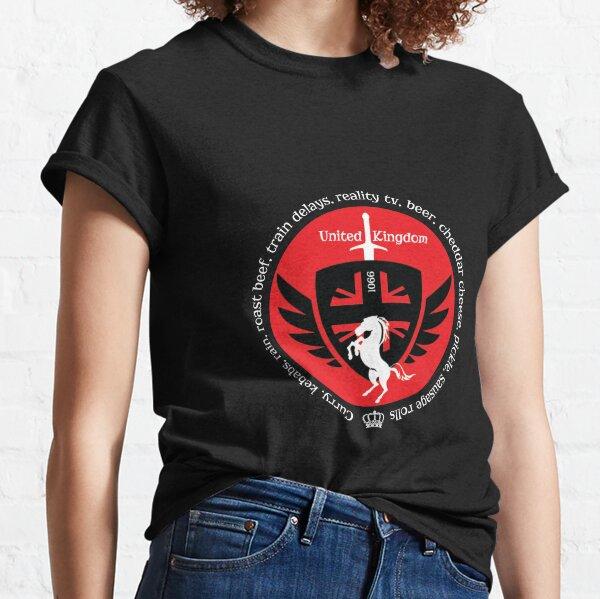 Love The United Kingdom - Great Britain - Brexit - UK Shirt - England t-shirt- England tee - United Kingdom Pride Classic T-Shirt