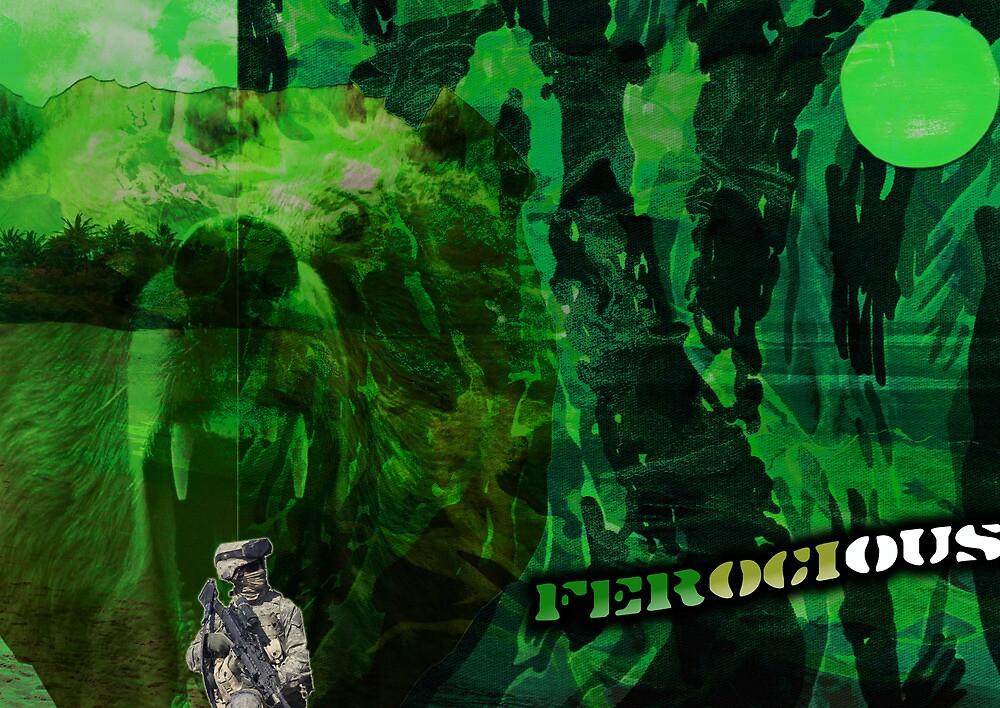 IM A FEROCIOUS BEAST by Matt Your A Creeper