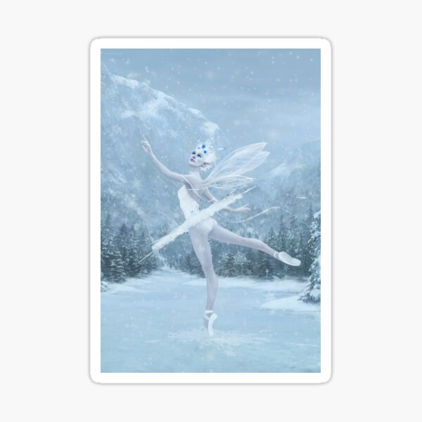 Snow Dancer Sticker
