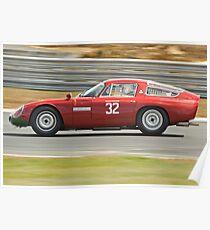 Alfa Romeo Giulia TZ Poster