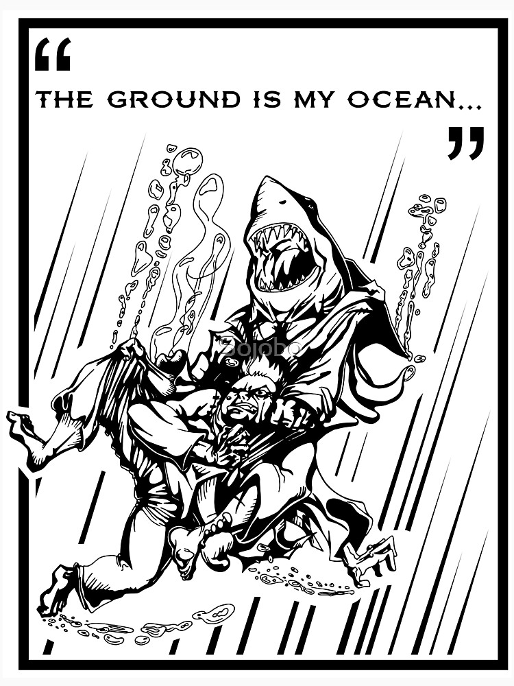 """The Ground is My Ocean..."" by Sojobo"