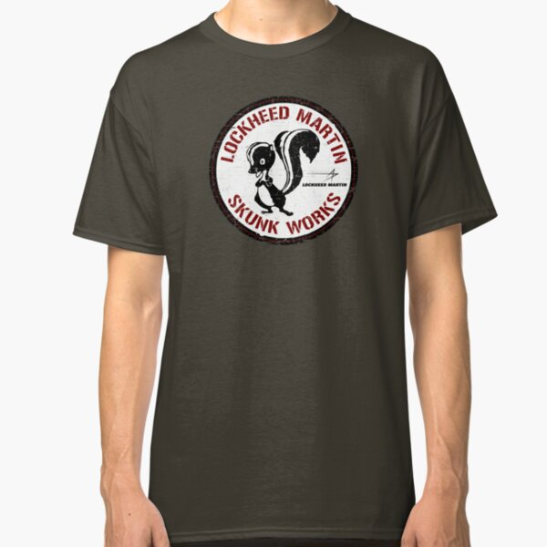 Skunk Works - ADP Roundel Patch - Grunge Style Classic T-Shirt