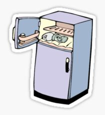 Goofy Cartoon Fridge Sticker