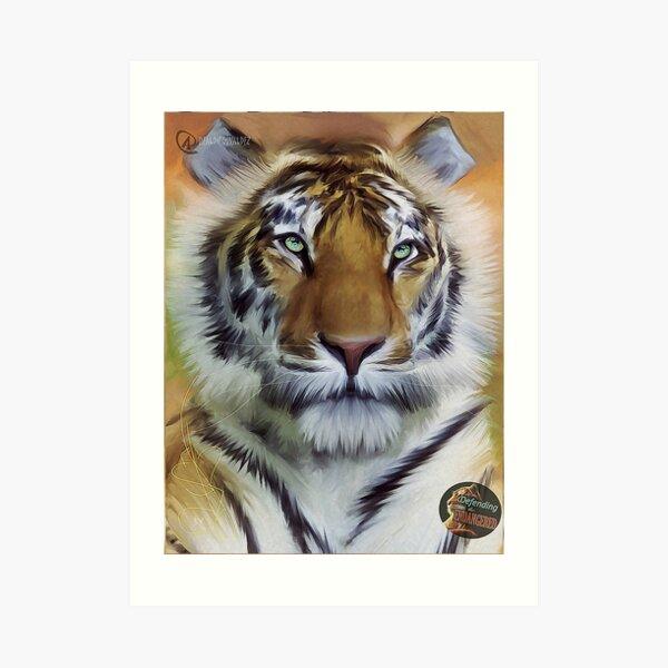 DTE - Tiger Beauty Art Print