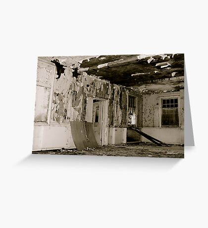 Harperbury - Decay Greeting Card