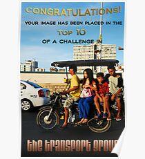 Banner Entry: Top 10 Challenge Winner Banner for Transport Group Poster