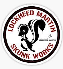 Skunk Works - ADP Roundel Patch - Clean Style Sticker