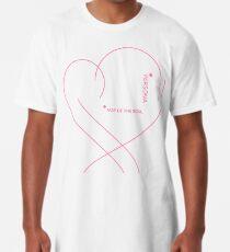 Camiseta larga mapa del alma - persona