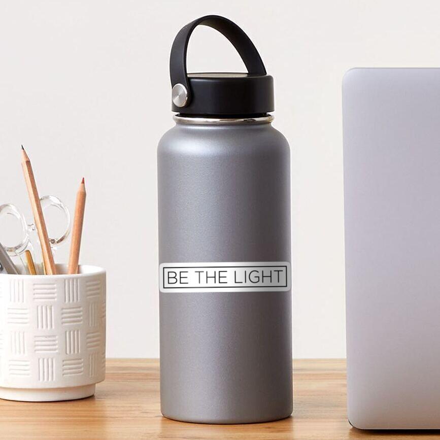 Be the Light Sticker