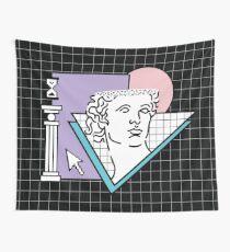 Apollo Vaporwave / griechischer Gott Wandbehang
