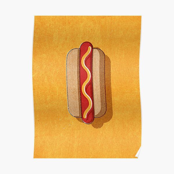 FAST FOOD / Hot Dog Poster