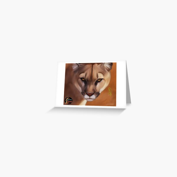 DTE - Mountain Lion Greeting Card