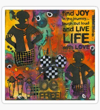 Finding JOY in My Journey Sticker