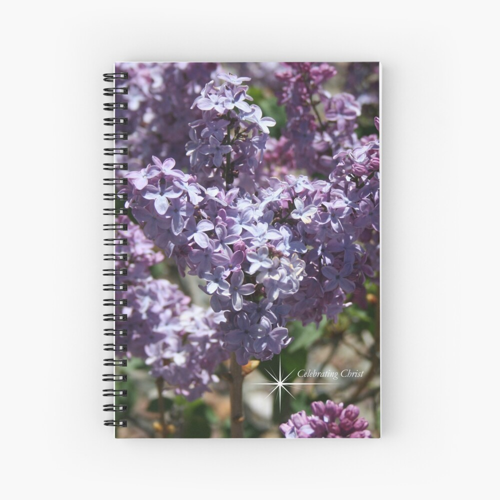 Spring Flowers Notebooks and Cards - From ccnow.info Spiral Notebook