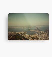 Rio de Janeiro vintage Metal Print